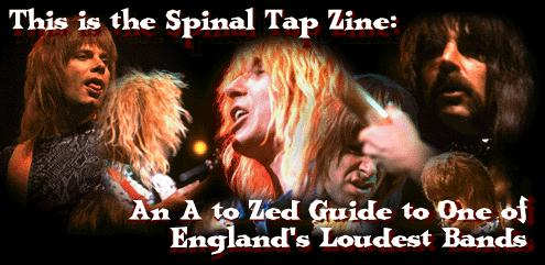 Spinal Tap A to Zed Logo